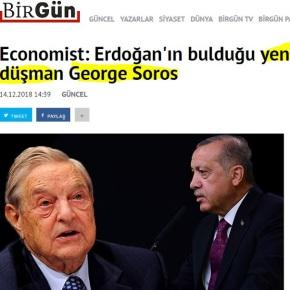 «Economist: Ο Ερντογάν απέκτησε ένα νέο εχθρό, τον ΤζορτζΣόρος»