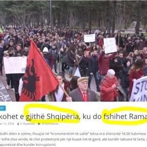 «Όλη η Αλβανία στο πόδι- Πού κρύβεται οΡάμα;»