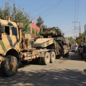 Προετοιμασίες τουρκικού στρατού για επίθεση κατά των Κούρδων τηςΣυρίας