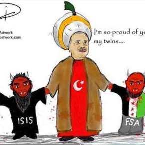 """Οι """"αποκεφαλιστές"""" του ISIS πρώτη γραμμή των Τούρκων κατά των Κούρδων κι όχι μόνο!Βίντεο"""