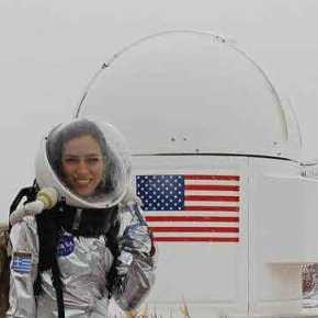 NASA: Στην αφρόκρεμα των επισημόνων Ελληνίδαερευνήτρια