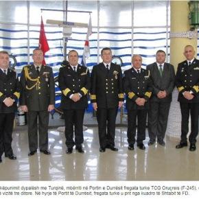 Αλβανία: Τουρκική φρεγάτα επισκέφθηκε τοΔυρράχιο