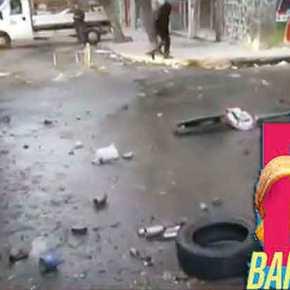 Βομβαρδισμένο τοπίο το κέντρο της Αθήνας – Γυαλιά καρφιά η Θεολογική του ΑΠΘ(βίντεο)