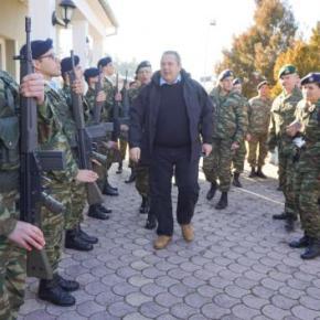 Ο Καμμένος από τα Ελληνοσκοπιανά σύνορα: «Η Μακεδονία είναι μια καιΕλληνική»