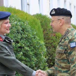 ΓΕΣ: Περιοδεία του Α/ΓΕΣ σε Υπηρεσίες Στρατού Ξηράς στη Θεσσαλονίκη –ΦΩΤΟ