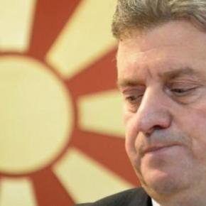 ΠΓΔΜ: «Κύκνειο» κάλεσμα Ιβάνοφ για απόρριψη της Συμφωνίας τωνΠρεσπών