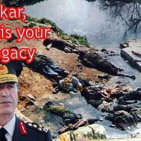 """Όταν η χώρα τρομοκράτης που λέγεται Τουρκία """"σβήνει"""" σε μία ανακοίνωση τις Γενοκτονίες και τα εγκλήματα που ΄χεικάνει"""