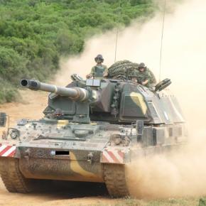 Βολές MLRS, PzH 2000 και M109A5 στο Πεδίο Βολής Κρήτης(Βίντεο)