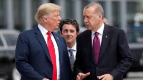 Έθεσε ευθέως το ζήτημα των F-35 και των S-400 στον Ερντογάν οΤραμπ
