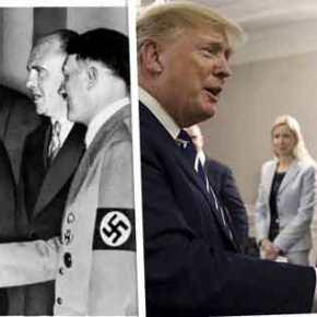 """""""Ο Τραμπ κάνει με τον Ερντογάν το ίδιο λάθος που έκανε ο Τσάμπερλεϊν με τονΧίτλερ""""!"""