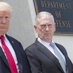 Είδηση – βόμβα: Παραιτείται ο Υπουργός Άμυνας των ΗΠΑ ΤζιμΜάττις