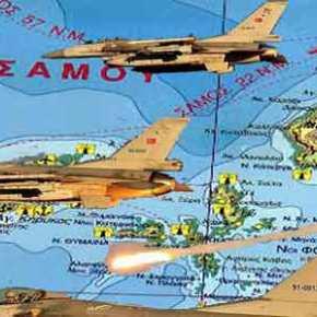 Τουρκικά μαχητικά εκτέλεσαν εικονική προσβολή ελληνικού εδάφους στους Φούρνους – 29′ εμπλοκή με F-16 τηςΠΑ!