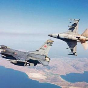 Αιγαίο: «Οργίασαν» τα τουρκικά μαχητικά αεροσκάφη με τριψήφιο αριθμόπαραβιάσεων