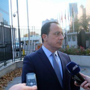 Ξεκάθαρο το μήνυμα Μίτσελ για την κυριαρχία της Κύπρου στην ΑΟΖ, σχολιάζει οΧριστοδουλίδης