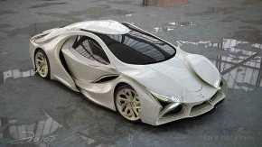 """LAROS"": Το supercar ενός Έλληνασχεδιαστή!"