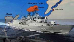 «Ο ελληνικός Στόλος θα πλεύσει και πάλι στην Τένεδο»…!!