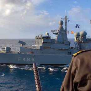 «Άστραψε και Βρόντηξε» ο Στόλος όχι στο Αιγαίο …Αλλά κοντά σιμά στηνΑττική!!!