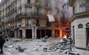 Ισχυρή έκρηξη στο Παρίσι(φωτογραφίες)