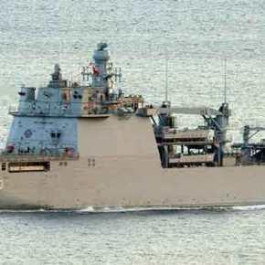 Το Τεράστιο Τουρκικό Αποβατικό Σκάφος «L-403 TCG»….Γυροφέρνει στα Στενά της νήσου Χίου-Τσεσμέ (φωτό &video