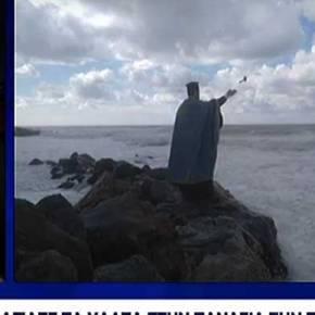 Αγιασμός στη Νότια Τουρκία απο τον …Πατέρα Κωνσταντίνο που ρίχνει το ΣταυρόΜονάχος