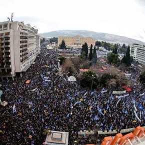 Τα διεθνή ΜΜΕ για το συλλαλητήριο: «Οι Έλληνες αισθάνονται προδοσία για την εθνική κληρονομιά»(βίντεο-φωτο)