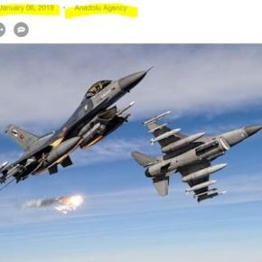 Τουρκική αεροπορική επίθεση στο βόρειοΙράκ