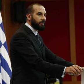 """Ο Τζανακόπουλος στηρίζει τον αλυτρωτισμό: «Δικαίωμα του Ζάεφ να χρησιμοποιεί τον όρο""""Μακεδονία""""»"""