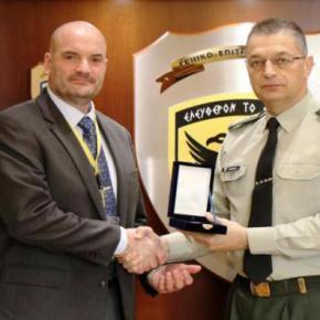 ΓΕΣ: Επίσκεψη του Διευθυντή FMS στην έδρα του Γενικού Επιτελείου Στρατού –ΦΩΤΟ