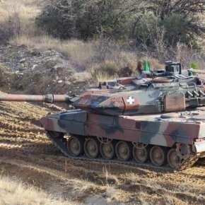 Άρμα Μάχης Leo2HEL του ΕΣ με πυροβόλο των 105mm! Κι όμως,έγινε!