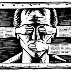 Παράνομη λογοκρισία