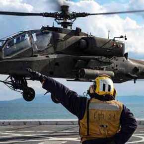 Έκλεψαν την παράσταση οι «Ινδιάνοι της Α.Σ» τα Ε/Π «AH-64A Apache» στην ΤΑΜΣ«ATG19»