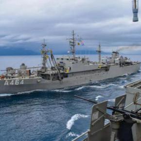 ΓΕΝ: «Αστραψε» και «βρόντηξε» το Πολεμικό Ναυτικό σε νέα επίδειξη ισχύος και ετοιμότητας-ΦΩΤΟ