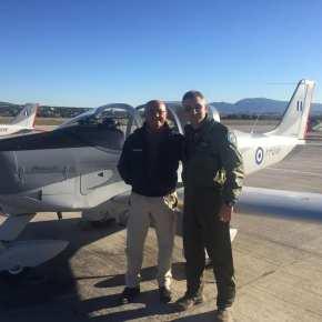 Άφιξη νέων εκπαιδευτικών αεροσκαφών P2002JF στοΤατόι