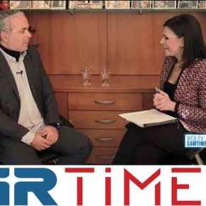 Συνέντευξη Ν. Λυγερού για το Σκοπιανό στοGrTimes.gr