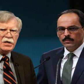 Τουρκία: Οι ισχυρισμοί του Μπόλτον είναι «παράλογοι» δήλωσε ο εκπρόσωπος τουΕρντογάν