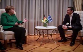 Μέρκελ: «Συγχαίρω τον Αλέξη Τσίπρα για τη Συμφωνία τωνΠρεσπών»