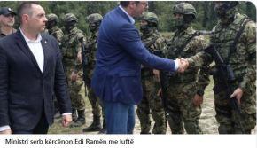 Σέρβος υπουργός απειλεί τον Έντι Ράμα μεπόλεμο