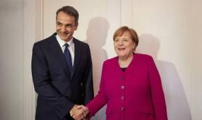Μητσοτάκης σε Μέρκελ: «Γι' αυτούς τους λόγους θα καταψηφίσω τη Συμφωνία τωνΠρεσπών»