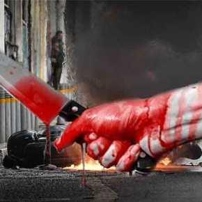 Άγνωστοι μαχαίρωσαν 11 φορές άντρα στη συμβολή Ασκληπιού & Σόλωνος – Πληροφορίες ότι έφερε την ελληνικήσημαία