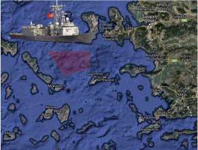 "NAVTEX της Τουρκίας για άσκηση στην ""καρδιά του Αιγαίου"" τηνΤρίτη"