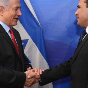 """Ισραήλ αναγνωρίζει σε… χρόνο ρεκόρ τους γείτονες, ως """"ΒόρειαΜακεδονία"""""""
