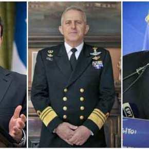 ΕΚΤΑΚΤΟ: Ο ναύαρχος Αποστολάκης νέος Υπουργός ΕθνικήςΆμυνας