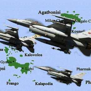 Θέλει ελληνικό αίμα η Άγκυρα: Τουρκικά F-16 προσπάθησαν να ρίξουν Super Puma της ΠΑ στοΦαρμακονήσι