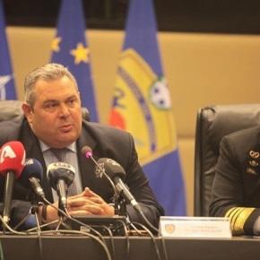 Τι είπε ο Καμμένος για τον κίνδυνο εισβολής τζιχαντιστών στην Ευρώπη, τους εξοπλισμούς και τηνΤουρκία