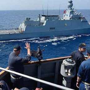 Διαψεύδει το ΓΕΕΘΑ, fake news η παρουσία τουρκικών πλοίων σταΊμια