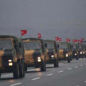Ο Ερντογάν συνεχίζει την συγκέντρωση ισχύος στα σύνορα με τηνΣυρία