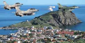 «Πρόβα Πολέμου στο Αιγαίο» ..Απτόητοι οι Χειριστές μας σε κάθε Παραβίαση τους «πήγαιναν» σεΑερομαχία