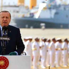 Διάγγελμα Ερντογάν για τη «Γαλάζια Πατρίδα» – Γέμισε το Αιγαίο με τουρκικά πλοία &υποβρύχια