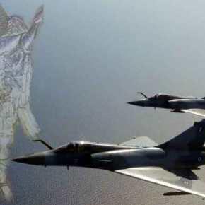 """Η 331η και η 341η Μοίρα «καθάρισαν» την πρώτη μέρα της """"Γαλάζιας Πατρίδας"""" με 5αερομαχίες"""