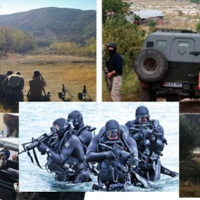 Η αμερικανική ομάδα 'SEAL' εκπαιδεύει τις αλβανικές ειδικέςδυνάμεις